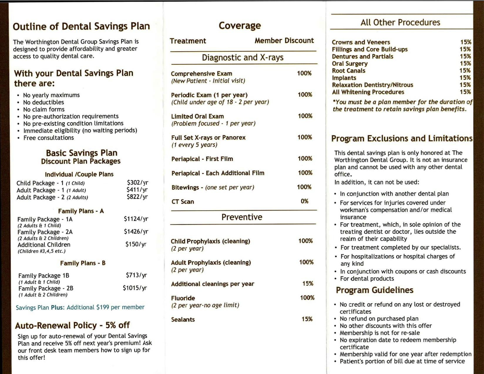 Savings Program